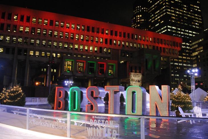 Boston sign